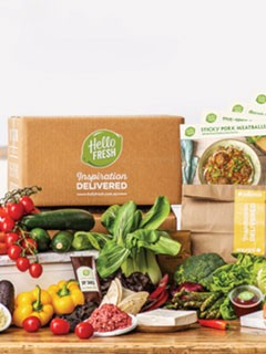 HelloFresh box 1