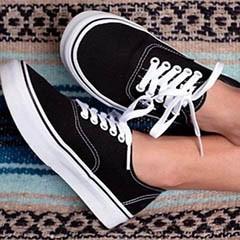 Authentic Vans footwear